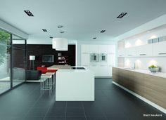 Luxe keukens on Pinterest  White Lotus, Koken and Van