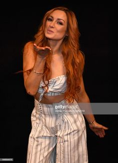 Becky Lynch attends the Academy of Country Music Awards at MGM Grand Garden Arena on April 2018 in Las Vegas, Nevada. Becky Lynch, Wrestling Stars, Wrestling Divas, Women's Wrestling, Becky Wwe, Nxt Divas, Rebecca Quin, Wwe Female Wrestlers, Wwe Girls