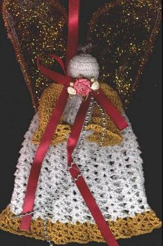 Christmas Crochet Angel | AllFreeCrochet.com