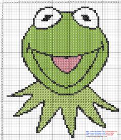 I will begin making a crochet KERMIT afghan tomorrow!  LOVE THIS!  http://3.bp.blogspot.com/-1ujjbwbh2IY/T6KsukAhFpI/AAAAAAAABTY/2VMFJEK0nHc/s1600/Rana+Rene+The+Muppets+-+Cross+Stitch+Punto+de+cruz.jpg