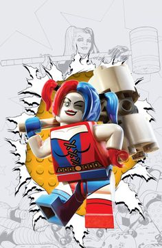 All 22 DC Comics LEGO Variant Covers Revealed | Newsarama.com - Visit to grab an amazing super hero shirt now on sale!