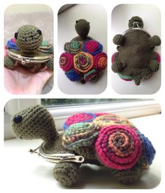 Tortoise Coin Purse Crochet Pattern