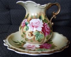 Antique Pitcher and Bowl Sets - Bing Images