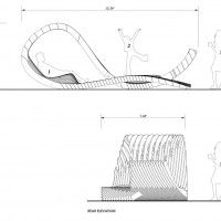 pavilion is to provide multiple spaces for relaxation, contemplation, and social interaction.