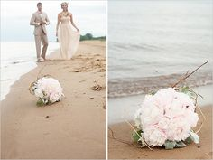 Chicago beach wedding