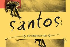 SANTOS | Handwritten Font by All This Concept on @creativemarket #display #font #handpicked Tattoo Fonts Cursive, Handwritten Fonts, Disney Font Free, Disney Fonts, Frozen Font, Disney Silhouettes, Stylish Fonts, Retro Font, Vintage Fonts