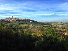 You all knows how looks like the panorama from our window but just above our estate I found another place with this view. Do you like it?   #Guardastelle #Tuscany www.guardastelle.com