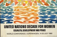 Political Posters, Labadie Collection, University of Michigan: United Nations Decade for Women -- World Conference