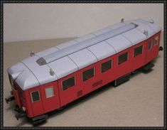 This vehicle paper model is aCzech Railcar, M 131.0, a two-axle diesel multiple units for regional traffic of the former Czechoslovak State Railways (CSD), the finished model by Modellcom. The scale is in 1:87 (H0) and 1:120 (TT).