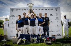 #Briston rewarded Facundo Fernandez Llorente for the Best Playing Polo Pony at the 120th #OpenDeParis #Maserati.