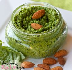 Vegan Powerhouse Kale Pesto