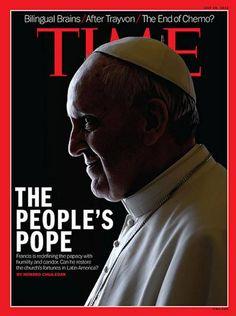Una gran persona que nos representa en el mundo y como argentino nos llena de orgullo, en la portada de TIME. El Papa del Pueblo.