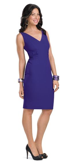 Stacy London - love that dress! Stacy London, London Outfit, Dress Skirt, Peplum Dress, Cool Outfits, Summer Outfits, Pin Up Models, Girl Crushes, Look