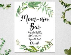 PRINTABLE MOM-OSA BAR SIGN INSTANT DOWNLOAD