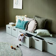 Knole Sofa, Ikea Bench, Scandinavian Kids Rooms, Architecture 3d, Boys Room Design, Kids Bedroom Furniture, Baby Boy Rooms, Kids House, Room Inspiration