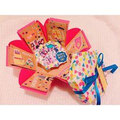 この可愛さは罪。あの子にあげたい【プレゼントボックス】の作り方 ... Instagram