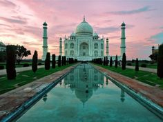 Taj Mahal, New Dehli, India....soooo excited to be able to see this when I'm there.