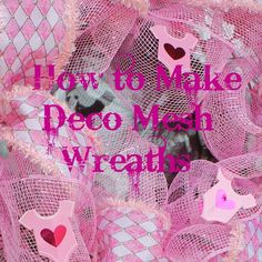 Miss Kopy Kat: How to Make Deco Mesh Wreaths. good tutorial just used it to make my first deco mesh wreath. Deco Mesh Garland, Deco Mesh Wreaths, Wreath Crafts, Diy Wreath, Wreath Ideas, Wreath Making, Garland Making, Deco Mesh Pumpkin, Mesh Wreath Tutorial