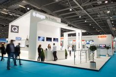 Stand S710 shining bright in the South Hall Gallery of ExCeL.