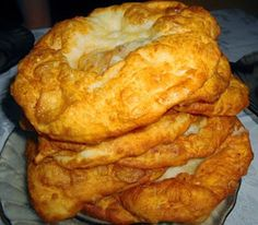 See related links to what you are looking for. Fried Bread Recipe, Bread Recipes, Cake Recipes, Cooking Recipes, Hungarian Desserts, Hungarian Recipes, Hungarian Food, Specialty Foods, Bread Rolls