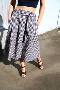 honey-kennedy-Eugene-Choo-Perfect-Skirt-Gingham-Print