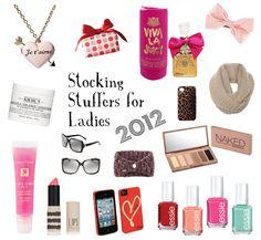 stocking stuffers for ladies 2012