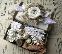 Spring Inspiration Box Swap - Made for Lorraine, via Flickr.