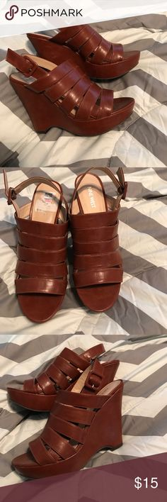 Wedge Brown Shoes Nine West Wedge Shoes Nine West Shoes Wedges