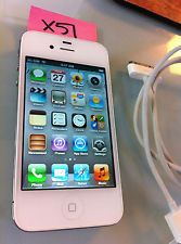 Apple iPhone 4S (Latest Model) - 16GB - White FACTORY UNLOCKED! MINT! (X51)