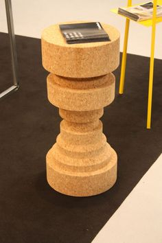 Tall Cork Stool - King and Queen Wood Chair Design, Cozy Reading Corners, Stool Makeover, Camping Stool, Trendy Furniture, Diy Home Decor Projects, Decor Ideas, Diy Chair, Cool Chairs