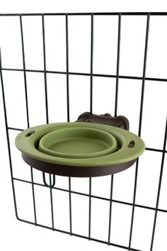 Dexas Popware for Pets Pivot Collapsible Kennel Cup, Small, Green - http://www.thepuppy.org/dexas-popware-for-pets-pivot-collapsible-kennel-cup-small-green/
