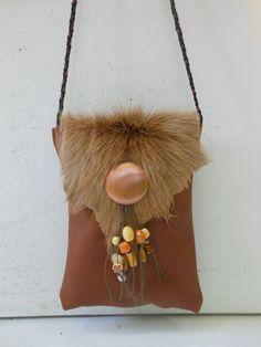 Ibiza style met springbok.  JANET Handgemaakte tassen op FB.