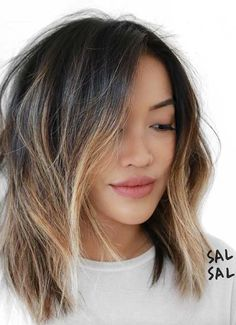 Short Hairstyles for Women: Ombre Bob