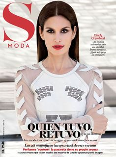 Cindy Crawford for S Moda Spain