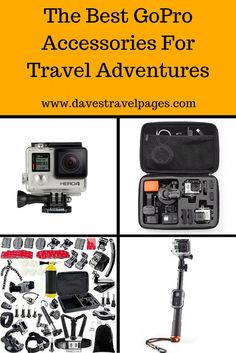 Here are some of the best GoPro accessories to help you capture all the action from your latest travel adventures. Whether cycling, surfing, or skydiving, there is a GoPro accessory designed to give you unique angles and shots so you can share the experience later.
