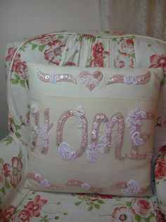 """Home"" button pillow"