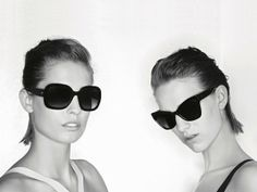 Chanel's Eyewear Prestige Collection for 2013 - Retro, Androgynous and Geek Chic