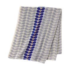 UNIQLO WOMEN Orla Kiely STOLE, Blue, $12.90
