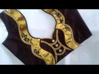 Hello Viewers Welcome To MMS DESIGNER. This video will show you how to create a beautiful and simple way MMS Latest Blouse Back Neck designs Easy Cutting and. Saree Jacket Designs, Patch Work Blouse Designs, Salwar Neck Designs, Saree Blouse Neck Designs, Simple Blouse Designs, Stylish Blouse Design, Dress Neck Designs, Sari Blouse, Blouse Neck Models