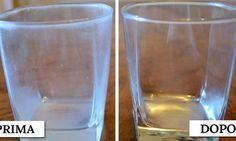 Bicchieri opachi: 5 modi per ridare loro nuova lucentezza