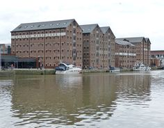 Gloucester England  the docks....largest number of surviving Victorian warehouses in England!  chw