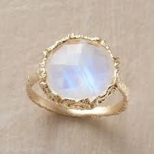Prachtige ring met opaal