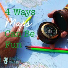 4 Ways Maps Can be Fun