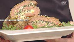 """La ricetta dello strudel di carne di Fabrizio Nonis del 11 febbraio 2016, a """"La prova del cuoco"""""""