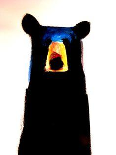 Jeanne F Goodman Fine Art - Bears - long tall bear. Art And Illustration, Illustrations, Oroboros Tattoo, Pencil Drawings, Art Drawings, Painting Inspiration, Art Inspo, Bear Art, Art Graphique