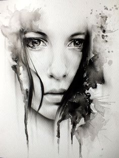 Girls face (Realism) by gpreece.deviantart.com