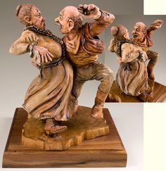 Wood Carving by David Boone - won Second Best in the 2007 Competition Artistry in Wood at Dayton Carvers