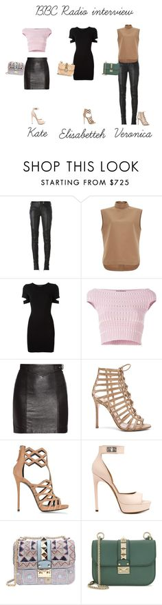 """""""BBC Radio Interview"""" by ghappyg on Polyvore featuring Balmain, Marni, Alexander Wang, Alexander McQueen, Yves Saint Laurent, Gianvito Rossi, Giuseppe Zanotti, Givenchy and Valentino"""
