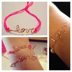 DIY Love Bracelet for Valentines Day