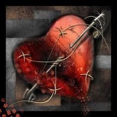 Résultats de recherche d'images pour « coeur briser noir »